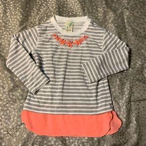 Lily Bleu Girl's Long-sleeved Striped Shirt